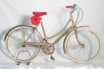 Funky bike art