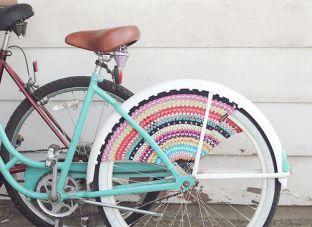 Crochet Bike wheels