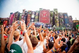 Tomorrowland Music Festival, Main Stage, Belgium, 2012