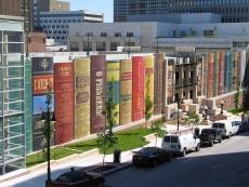 Kansas City Public Library, Parking Garage Exterior